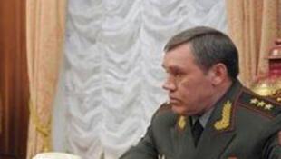 Général Sergueï Choïgou, nouveau ministre russe de  la Défense.