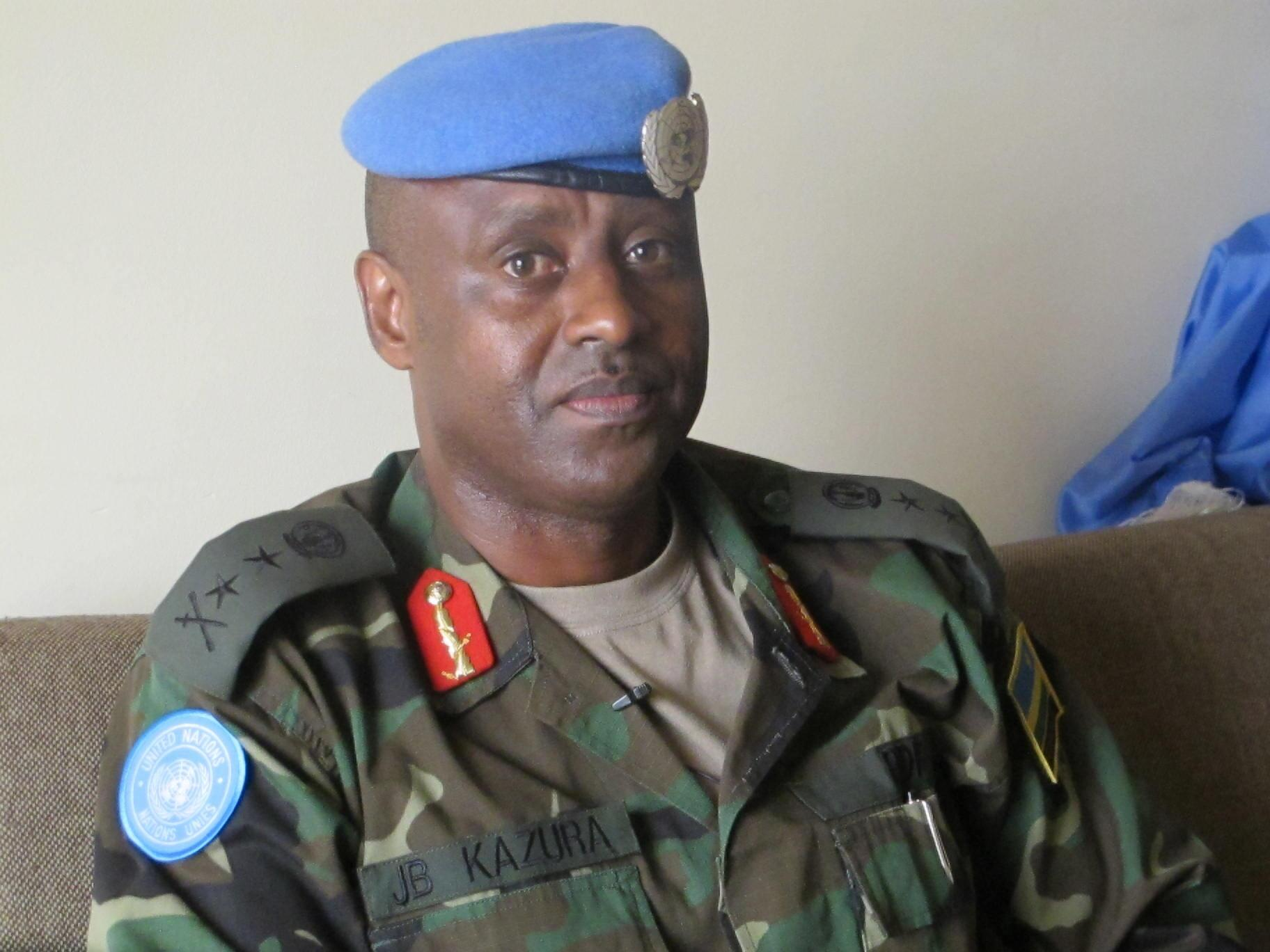 Le général Jean-Bosco Kazura.