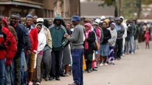 Jerin masu kada kuri'ar zaben shugaban kasa a Zimbabwe