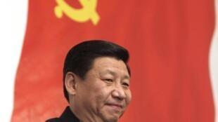 Le vice-président chinois Xi Jinping laisse perplexe les experts sur sa ligne politique. Photo d'archives, à Moscou, le 23 mars 2010.