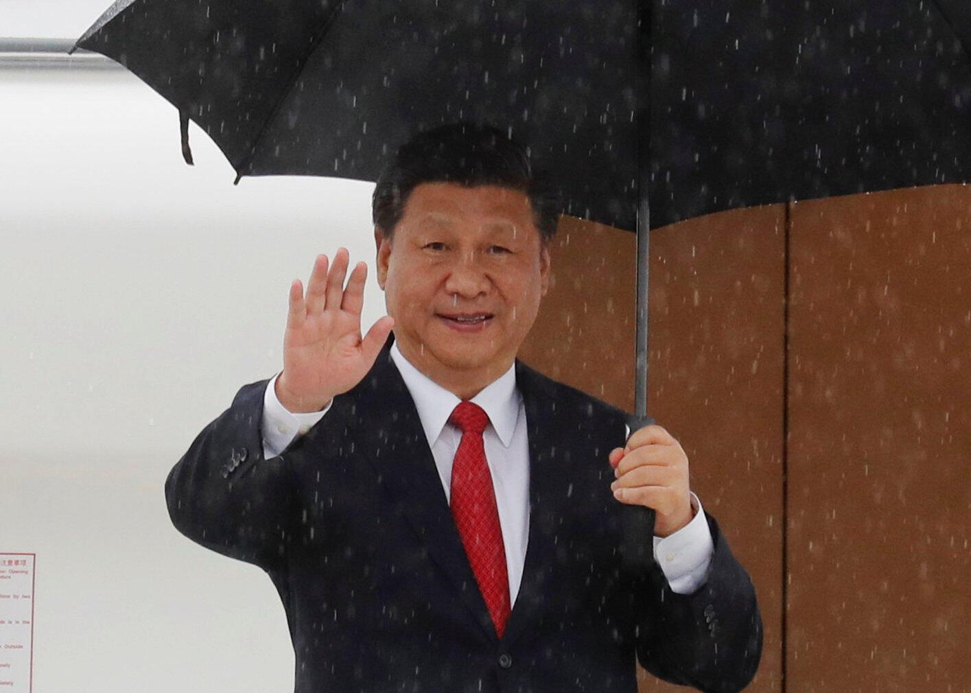 圖為中國國家主席習近平2018年11月21日國事訪問菲律賓
