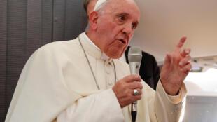 Le pape François appelle les catholiques chinois à se faire «artisans de la réconciliation».