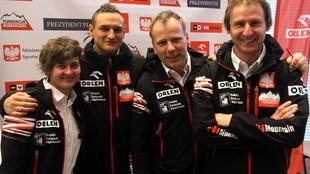 Состав команды: Артур Хайзер (руководитель), Януш Голаб, Адам Белецки и его сестра, Агнешка Белецкая.