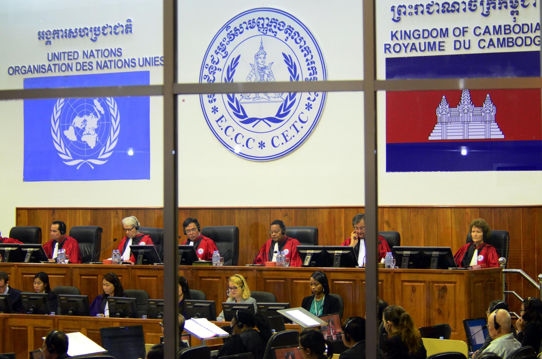 Les Chambres extraordinaires au sein des tribunaux cambodgiens (CETC), le 30 juillet 2014.