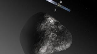 La sonde Rosetta est partie en 2004 à la rencontre de la comète Tchourioumov-Guérassimenko.
