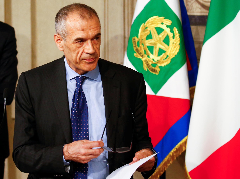 کارلو کُتارلی، اقتصاددان طرفدار ریاضت اقتصادی، به ریاست شورای وزیران ایتالیا منصوب شد - ٢٨ مه ١٣٩٧/٧ خرداد ٢٠١٨