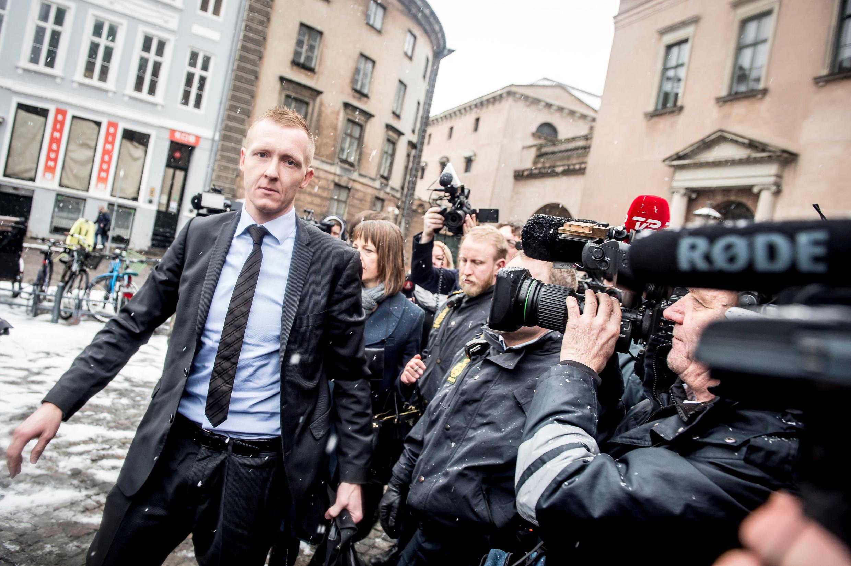 Прокурор прибывает на слушания по делу об убийстве Ким Валль, Копенгаген, 8 марта 2018 года