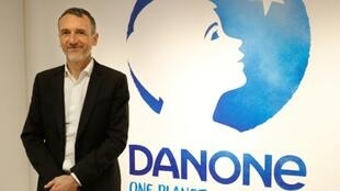 CEO Emmanuel Faber says Danone delivered strong results in 2017