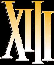 """Logo của bộ truyện tranh """"XIII""""."""
