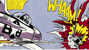 """Whaam!"", 1963, de Roy Lichtenstein."