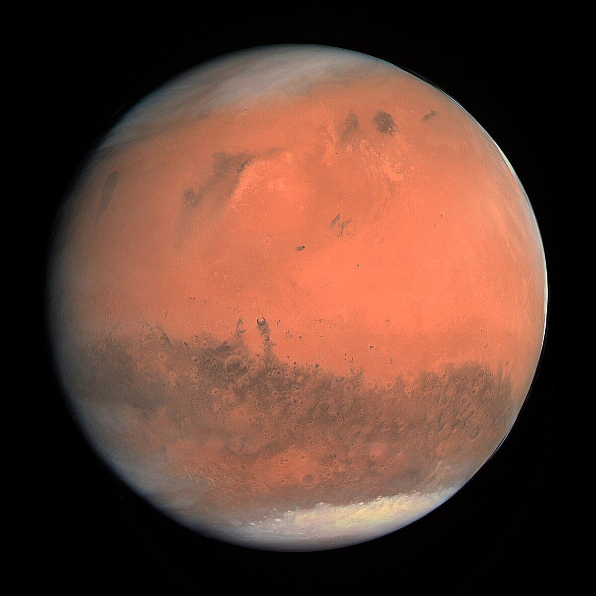 火星 望遠圖