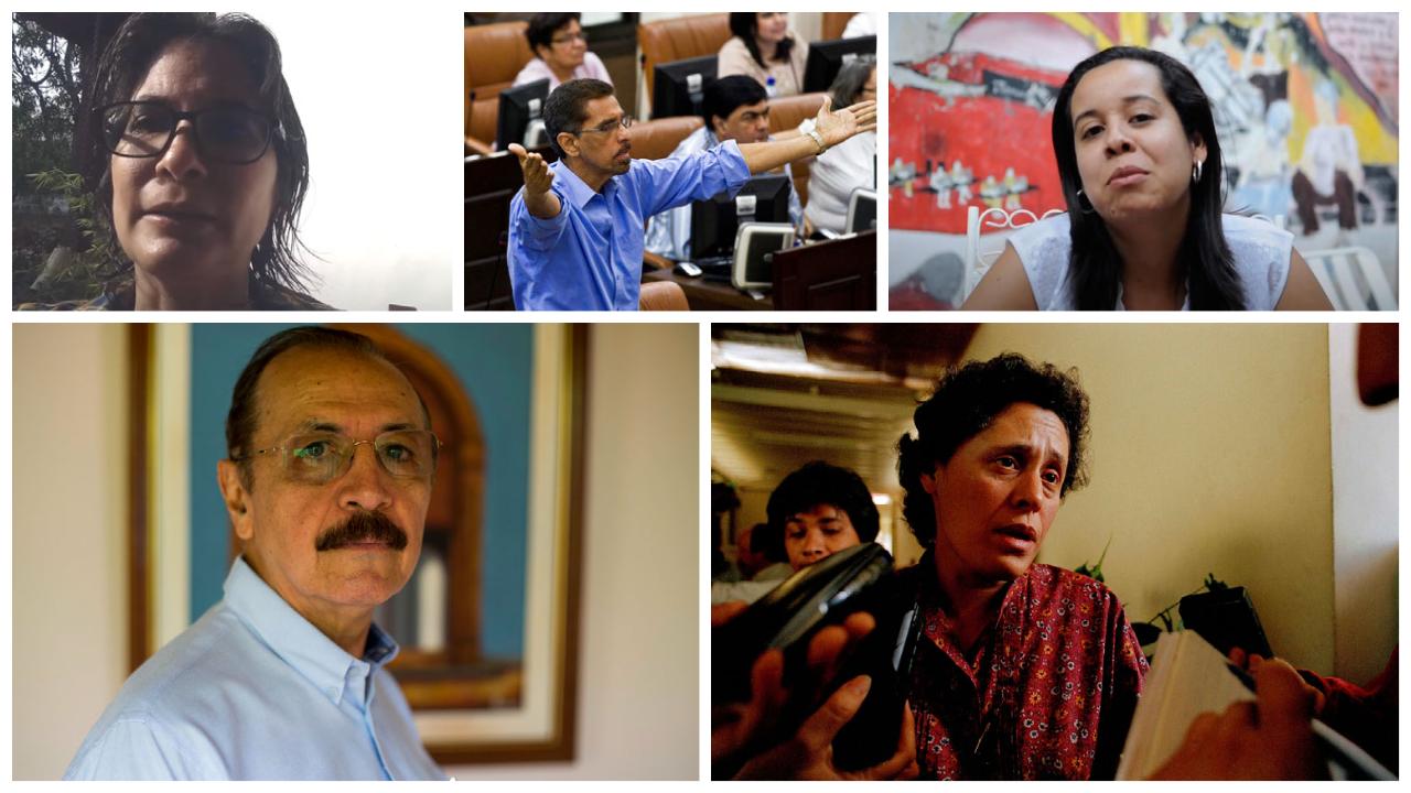 líderes presos Nicarágua