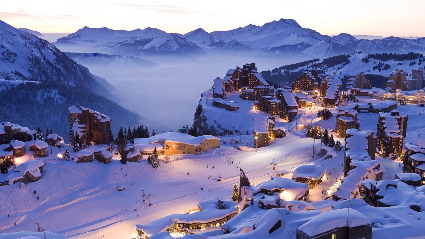 阿沃里亞茲(Avoriaz)滑雪站
