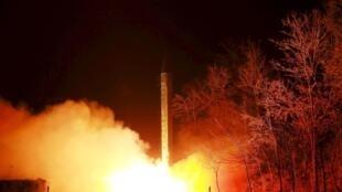 آزمایش موشکی کره شمالی/ عکس آرشیو.
