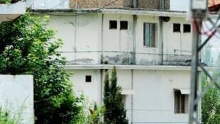 منزل آخر بن لادن در پاکستان
