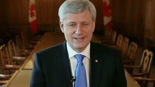加拿大前總理哈珀