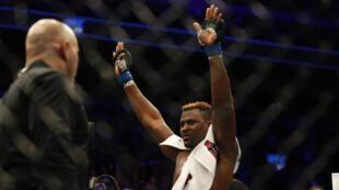 La nouvelle coqueluche du MMA, le Camerounais Francis Ngannou.