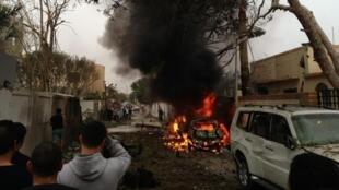 انفجار صبح امروز در لیبی