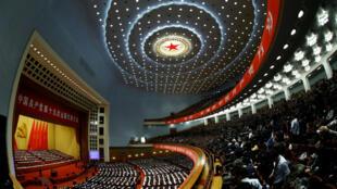 Congreso del PCC, Pekín, el 18 de octubre de 2017.