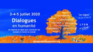 Dialogues en humanité, 3, 4 et 5 juillet 2020.