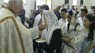 Ici, une église chaldéenne à Mossoul.