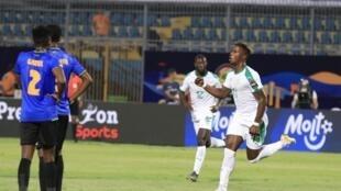 O avançado senegalês Keita Baldé apontou o primeiro golo do Senegal frente à Tanzânia.