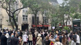 6月4日法国巴黎的六四纪念活动