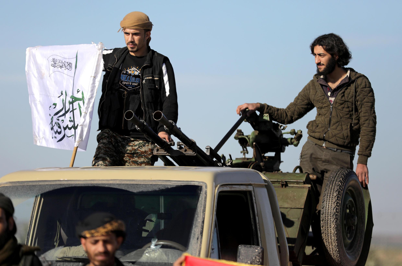 Des rebelles syriens soutenus par la Turquie dans la région de Manbij, le 29 décembre 2018 (Illustration).