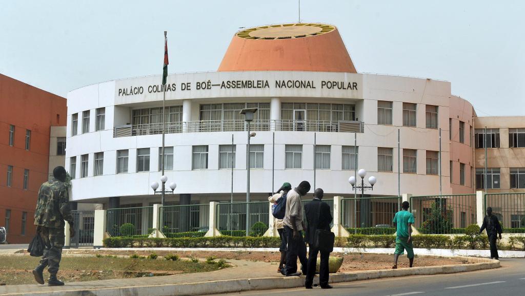 Assembleia Nacional Popular em Bissau.