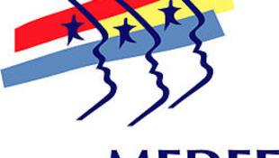 Logo du Mouvement des entreprises de France (MEDEF), 28/12/2009.