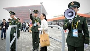 中國上海世博會調集大批警力