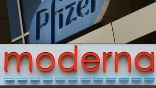 Pfizer-BioNTech and Moderna