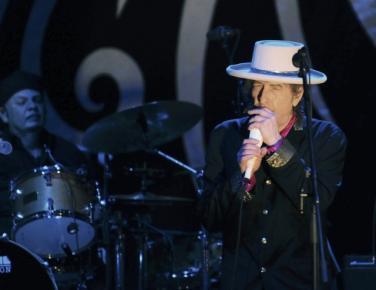 美國搖滾巨星鮑勃•迪倫