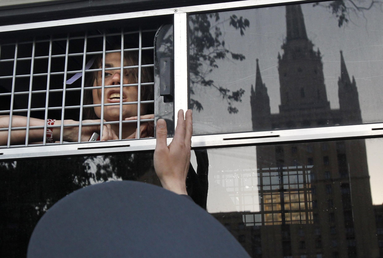 Задержания на Баррикадной, 17 мая 2012, Москва, Россия