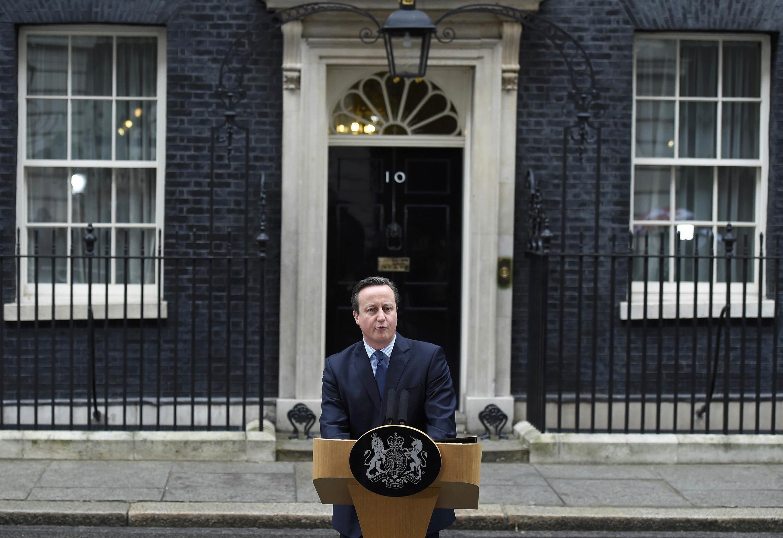 Дэвид Кэмерон объявил дату референдума о выходе Великобритании из ЕС, Лондон, 20 февраля 2016 года