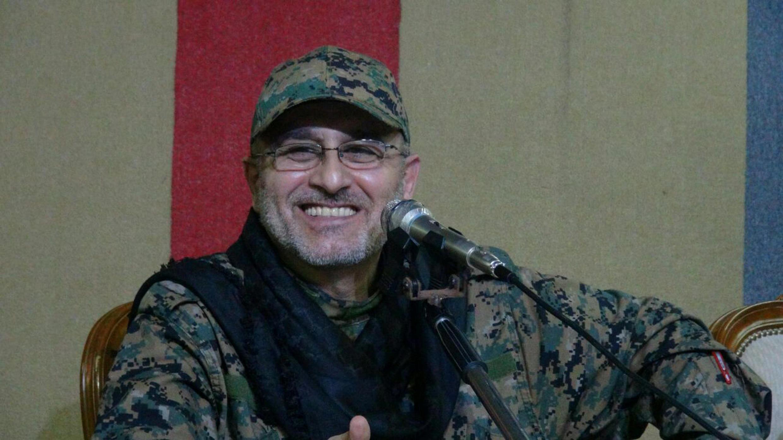 O comandante militar do Hezbollah, Mustapha Baddredine