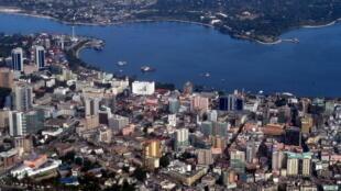 Vue de Dar es Salaam plus grande ville de Tanzanie.