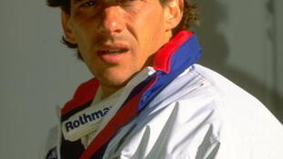O piloto brasileiro Ayrton Senna em 1° de janeiro de 1994.
