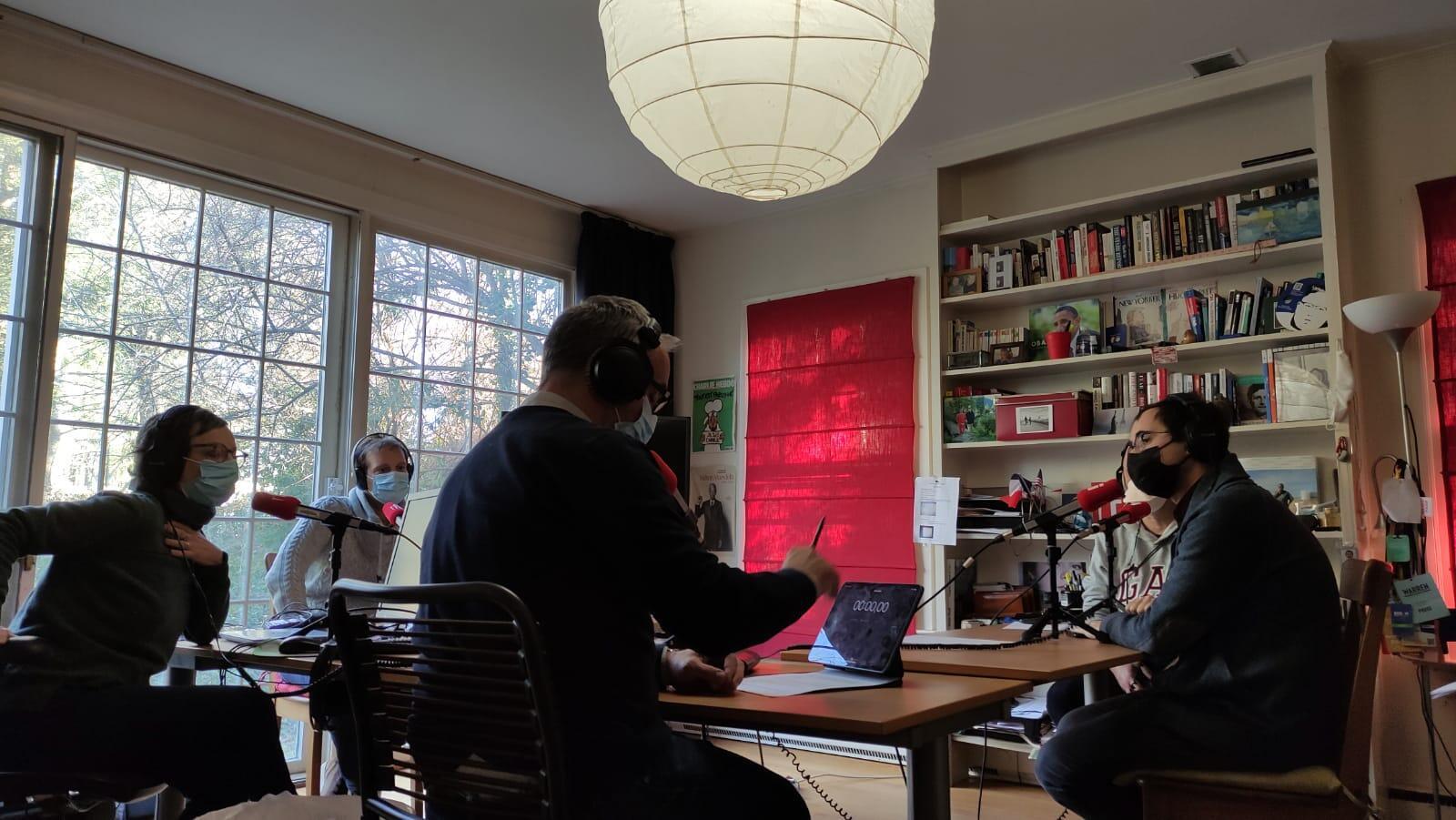 Enregistrement de l'émission Washington d'ici le 21 janvier 2021.