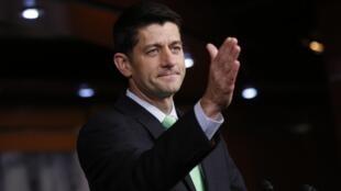 Le républicain Paul Ryan, président de la Chambre des représentants, le 28 avril 2016, à Washington.