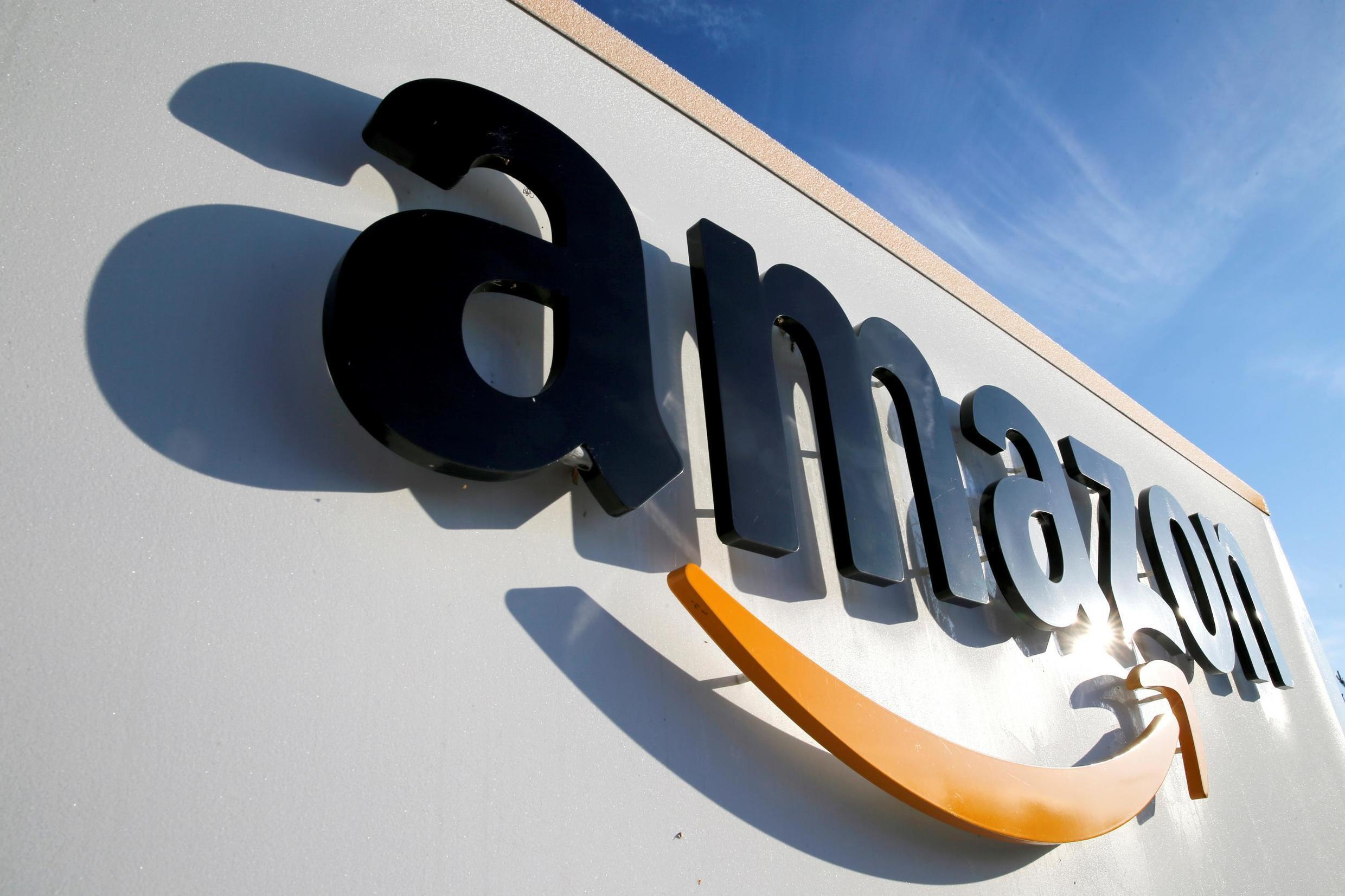 File photo: An Amazon logistics centre in Boves, France