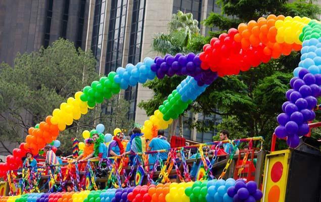 رژه دگرباشان در شهر سائو پائولو در برزیل در سال ۲۰۱۶ میلادی