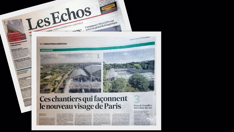 Jornal Les Echos lista as principais obras e reformas arquitetônicas que devem dar uma nova fisionomia a Paris a partir deste ano.