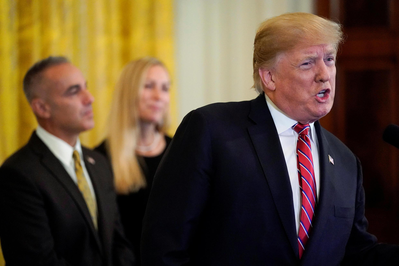 دونالد ترامپ در سخنانش در کاخ سفید که شنبه ۱۵ آذر/ ۶ دسامبر ایراد کرد، ضمن خرسندی از خروج آمریکا از برجام ، بر حمایت کشورش از اسرائیل تأکید کرد.