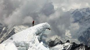 世界上最高的山峰-珠穆朗玛峰