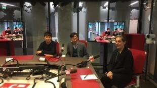 法国国际广播电台安东尼·林祖强访谈郝量和凯瑟琳·大卫