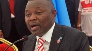 Vital Kamerhe, le candidat à l'élection présidentielle 2011 en RDC, le 14 décembre 2010.