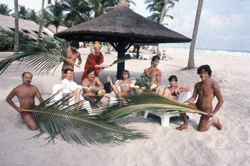 В последние годы французы меньше ездят за границу. На фото: герои знаменитой французской кинокомедии «Les Bronzés» на отдыхе в Кот-д'Ивуаре. 1978 г.