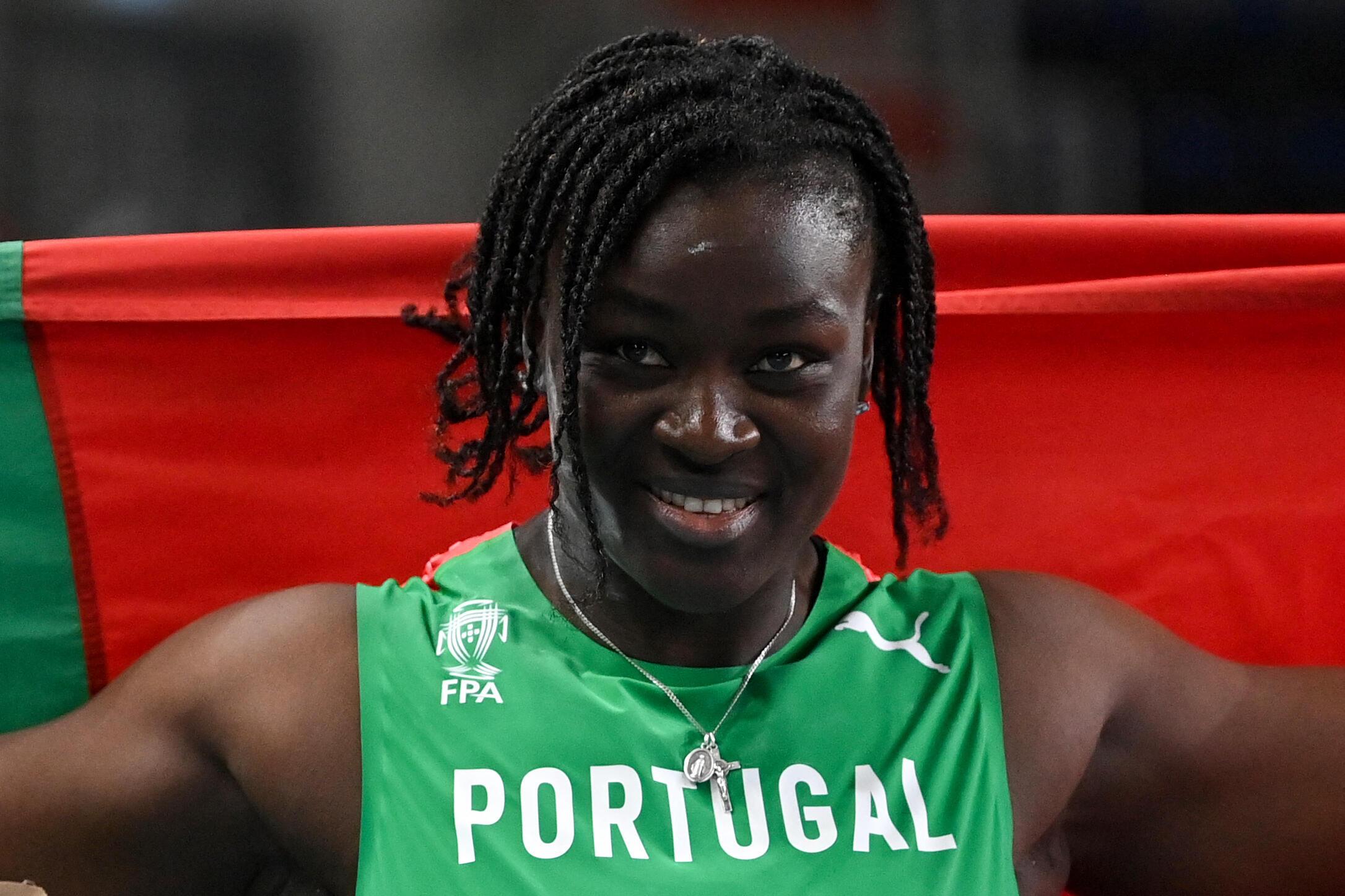 Auriol Dongmo, atleta portuguesa.