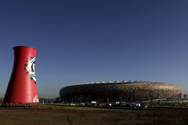 Le Soccer City Stadium de Johannesburg, qui a accueilli les matchs d'ouverture et de clôture de la Coupe du monde de football 2010.